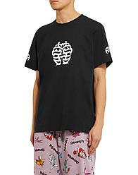 Футболка черная Vetements Happiness • Ветеменс футболка мужская   женская   детская