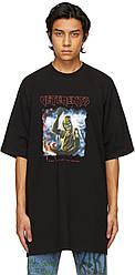 Футболка черная Vetements Iron • Ветеменс футболка мужская   женская   детская