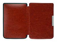 Обложка PocketBook 614 Basic 2/3 (Plus) коричневая - чехол для электронной книги Покетбук