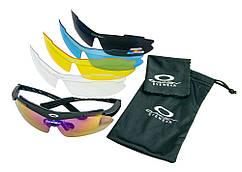 Тактичні окуляри з поляризацією Oakley з диоптрической вставкою, сонцезахисні окуляри для водіїв