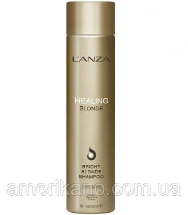 Целебный шампунь для натуральных и обесцвеченных светлых волос L'anza Healing Blonde Bright Blonde Shampoo