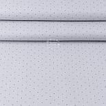 """Лоскут ткани """"Графитовые редкие точки"""" на сером (№3410), размер 84*38 см, фото 2"""