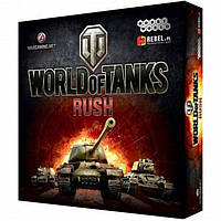 Настольная игра Hobby World World of Tanks Rush 2-е русское издание (1341)