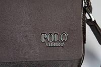 Мужская кожаная сумка Polo. Модель 0450, фото 6
