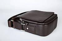 Мужская кожаная сумка Polo. Модель 0450, фото 5