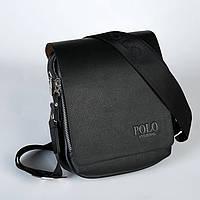 Мужская кожаная сумка Polo. Модель 0450, фото 7