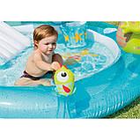 """Надувний дитячий басейн з гіркою ігровий центр INTEX """"ВЕСЕЛИЙ ДИНОЗАВР"""" 57163 196х170х107 см, фото 5"""