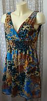 Платье женское легкое летнее мини бренд Sisters Point р.40-42 4508