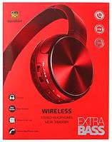 Беспроводные Bluetooth наушники, Наушники для телефона, планшета, МР3. Micro usb. XB400BT (Красный)