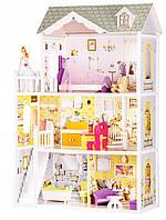 Кукольный домик игровой для Барби Ecotoys 4108 Beverly с куклой