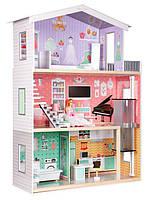 Кукольный домик игровой для Барби Ecotoys 4128 Candy лифт + кукла