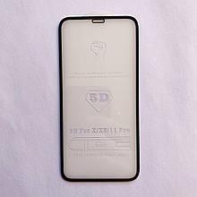 Захисне скло 5D GLASS для Apple iPhone X iPhone XS iPhone Pro 11