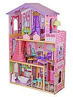 Кукольный домик игровой для Барби Avko Вилла Магнолия с лифтом и куклой