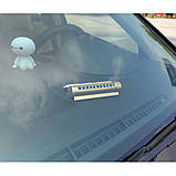 Автовізітка Антіевакуатор Табличка з номером телефону для паркування під лобове скло Візитка на панель авто, фото 3