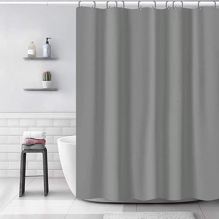 Шторка для ванной Bathlux 180 x 180 люкс качество, водонепроницаемая Бежевая