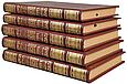 Тора, або П'ятикнижжя Мойсея в шкіряній палітурці і подарунковому футлярі (5 томів) Переклад Л. І. Мандельштама, фото 2