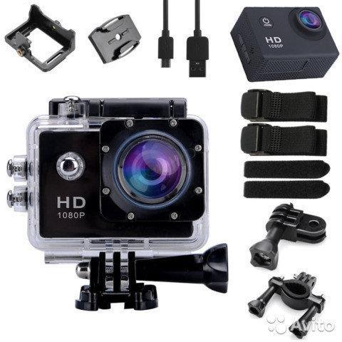 Екшн камера А7 Sport Full HD 1080P. Аналог GoPro gopro. Відеореєстратор