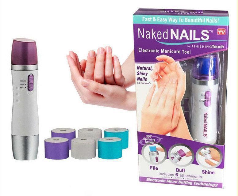 Naked Nails машинка для полірування нігтів