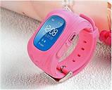 Дитячі розумні годинник smart baby watch q50 з gps трекером. Дитячі розумні годинник, фото 4