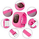 Дитячі розумні годинник smart baby watch q50 з gps трекером. Дитячі розумні годинник, фото 6