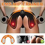 Масажер для стегон і сідниць T52 EMS HIPS Trainer антицелюлітний, Міостимулятор і електростимулятор для м'язів, фото 6