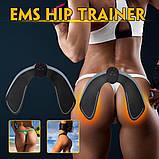 Масажер для стегон і сідниць T52 EMS HIPS Trainer антицелюлітний, Міостимулятор і електростимулятор для м'язів, фото 8