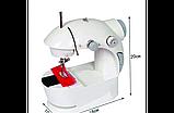 Швейна машинка mini Sewing Machine, Портативна Міні швейна машинка 4 в 1, Mini Sewing Machine, фото 8