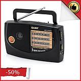 Портативний радіоприймач на батарейках KIPO kb-308ac, Fm радіоприймачі радіо, фото 2