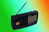Портативний радіоприймач на батарейках KIPO kb-308ac, Fm радіоприймачі радіо, фото 6
