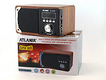 Портативна Bluetooth Handsfree колонка акустична Atlanfa AT-1822ВТ, FM, 6W + USB і функцією Power Bank,