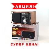 Портативная Bluetooth Handsfree колонка акустическая Atlanfa AT-1822ВТ, FM, 6W + USB и функцией Power Bank,, фото 4