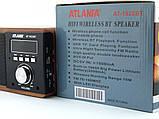 Портативная Bluetooth Handsfree колонка акустическая Atlanfa AT-1822ВТ, FM, 6W + USB и функцией Power Bank,, фото 7