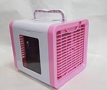 Переносной мини кондиционер Arctic Air, Портативный, мобильный кондиционер для дома, работает от USB Розовый