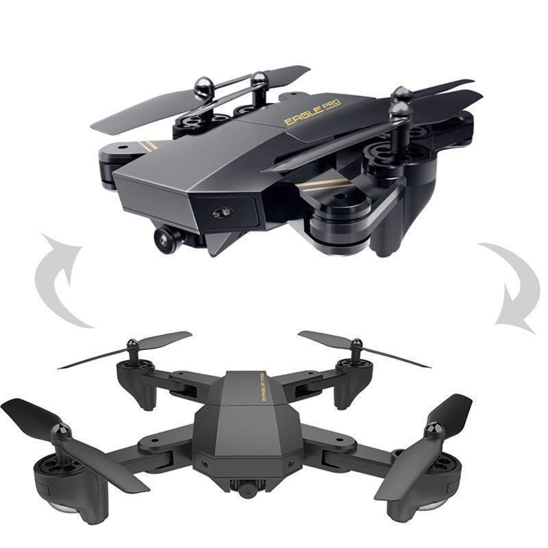Радиоуправляемый дрон квадрокоптер с видеокамерой Phantom D5HW складной, летающий дрон с камерой FPV WiFi