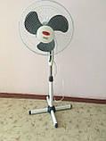 Вентилятор 100 Вт. Австрія. Підлоговий. Wimpex 1612, фото 4