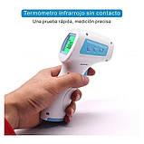 Бесконтактный инфракрасный цифровой термометр медтехника. Детский медицинский градусник JJT889, фото 3