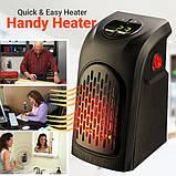Портативный тепловентилятор дуйчик Handy Heater, электрообогреватель для дачи зимой, мини обогреватель, Rovus, фото 3