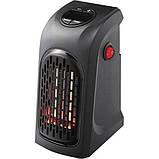 Портативный тепловентилятор дуйчик Handy Heater, электрообогреватель для дачи зимой, мини обогреватель, Rovus, фото 4