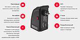 Портативный тепловентилятор дуйчик Handy Heater, электрообогреватель для дачи зимой, мини обогреватель, Rovus, фото 8