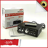 Усилитель звука AV-699B. Bluetooth. 12 V. Mp3, фото 2