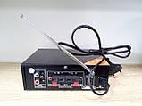 Усилитель звука AV-699B. Bluetooth. 12 V. Mp3, фото 7