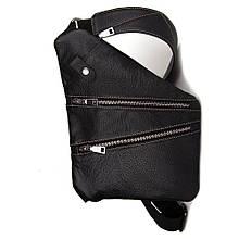 Чоловіча сумка Cross Body шкіра (чорна)