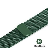 Браслет Миланская петля для Apple Watch 42/44 mm зеленый