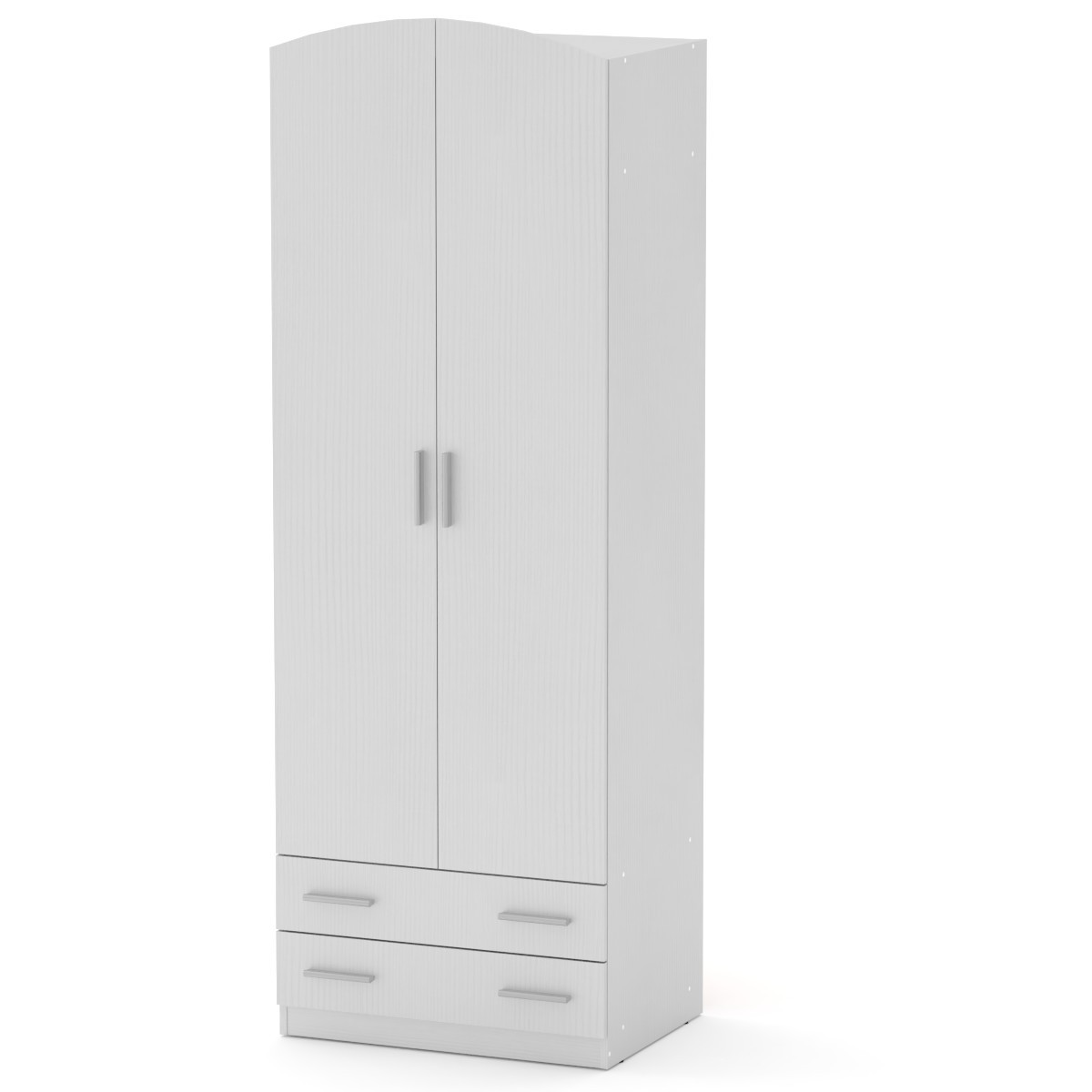 Шкаф-4 нимфея альба (белый) Компанит (74х54х212 см)