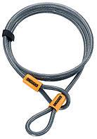 Трос Onguard AKITA Wire 120см х 10мм на петлях с виниловым покрытием, стальной