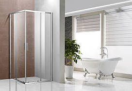 Скляна душова кабіна AVKO Glass 1421, 190х90х90 Clear