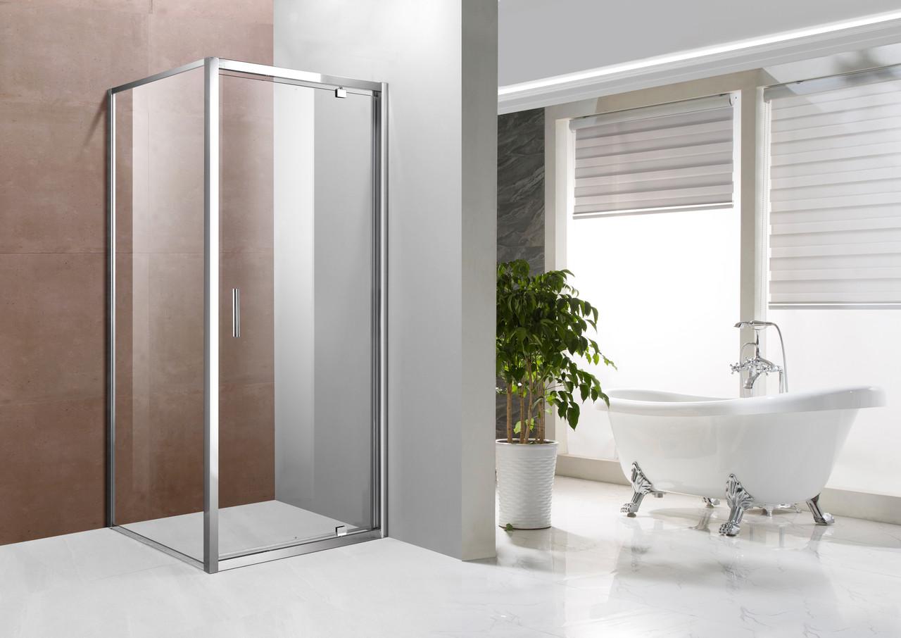 Скляна душова кабіна AVKO Glass 1424 90x90x190 Clear