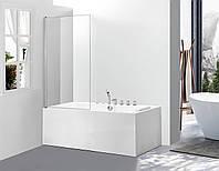 Стеклянная шторка для ванны AVKO Glass 542 70х140см Clear