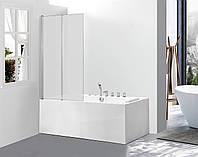 Скляна шторка для ванни AVKO Glass 542-2 120x140 Frosted