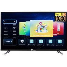 LED телевізор 24 дюйма Domotec TV 24LN4100D, DVB-T2, USB, HDMI, БЕЗ smart tv